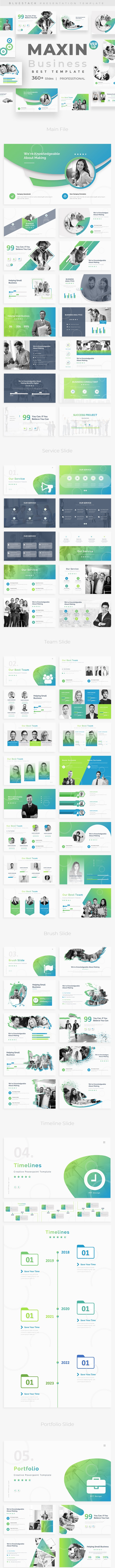 Maxin Business Powerpoint Template - Business PowerPoint Templates