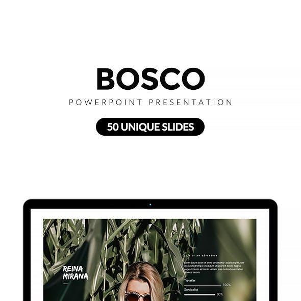 Bosco Powerpoint Presentation Template