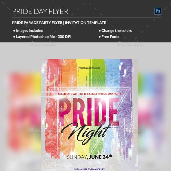 Pride Flyer