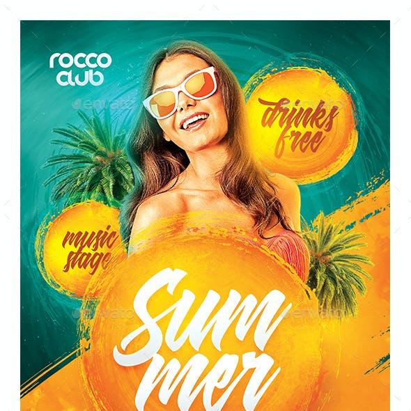 Hot Summer Flyer