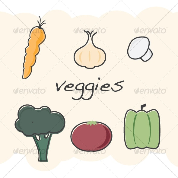 Veggies - Food Objects