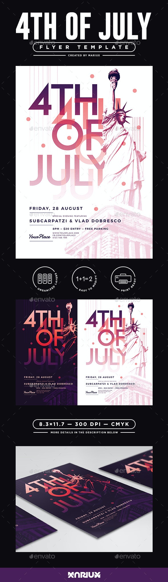 4th of July Flyer / Poster - Events Flyers