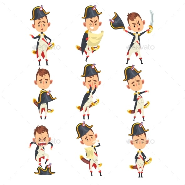 Napoleon Bonaparte Cartoon Character - People Characters