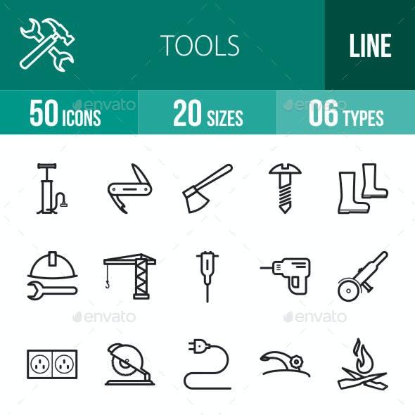 Tools Line Icons