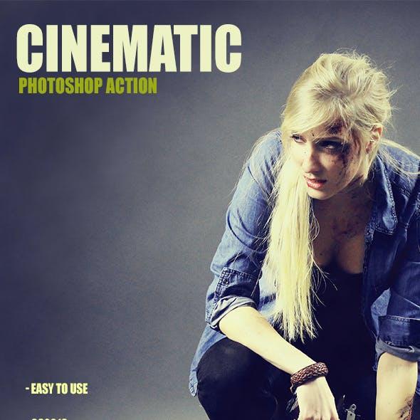 Cinematic Effect - Photoshop Action