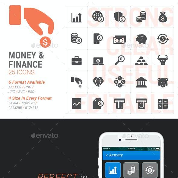 Money & Finance Filled Icon