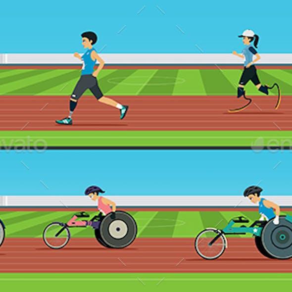 Handicapped Sprinters
