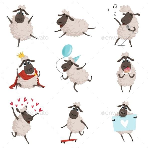 Cartoon Farm Animals - Animals Characters