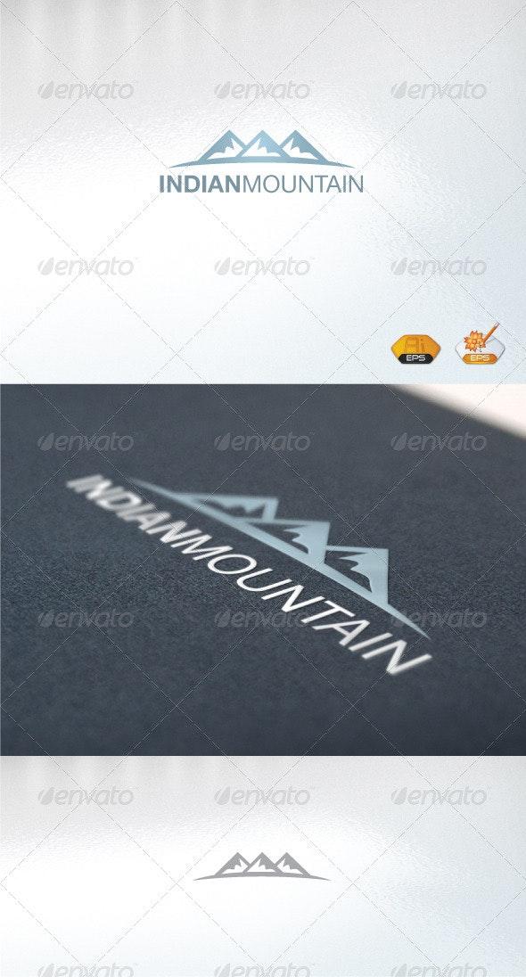 Indian Mountain - Abstract Logo Templates