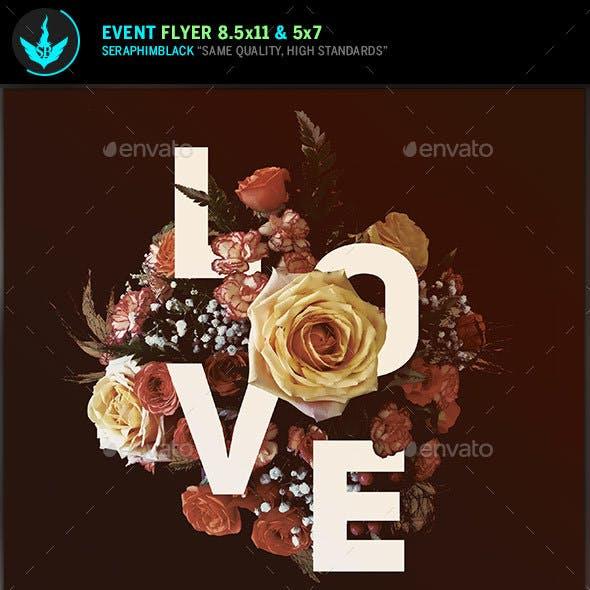 Love Wedding Invite Template