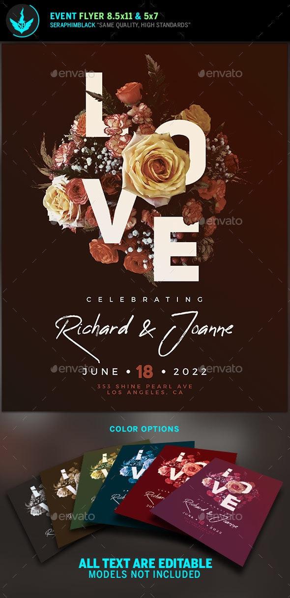 Love Wedding Invite Template - Weddings Cards & Invites