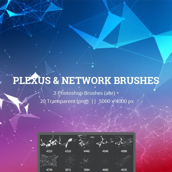 Plexus & Network Brushes