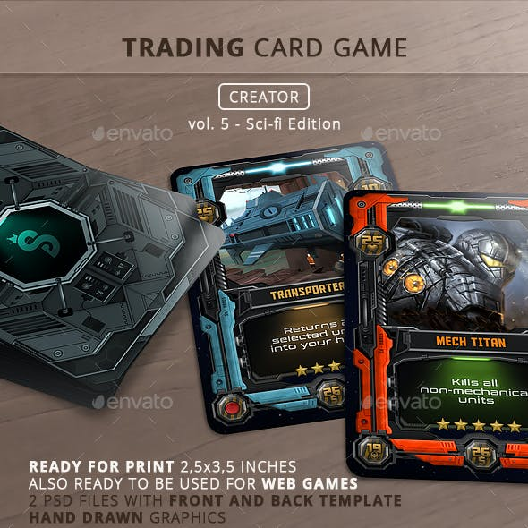 Trading Card Game - Creator - vol.5