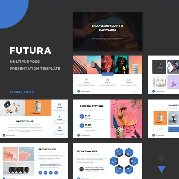 Futura Company Profile Presentation