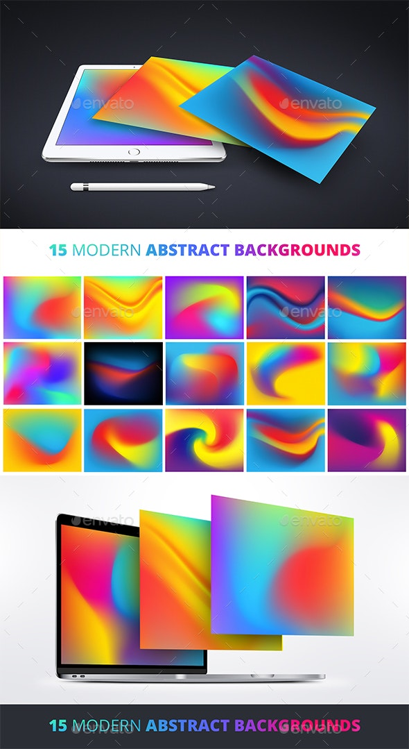 15 Modern Abstract Backgrounds - Abstract Backgrounds