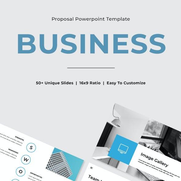 Maxx - Business Powerpoint Template