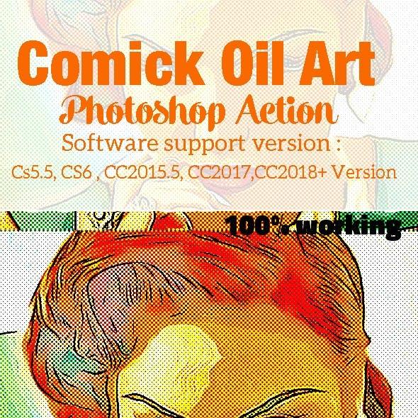 Comick Oil Art