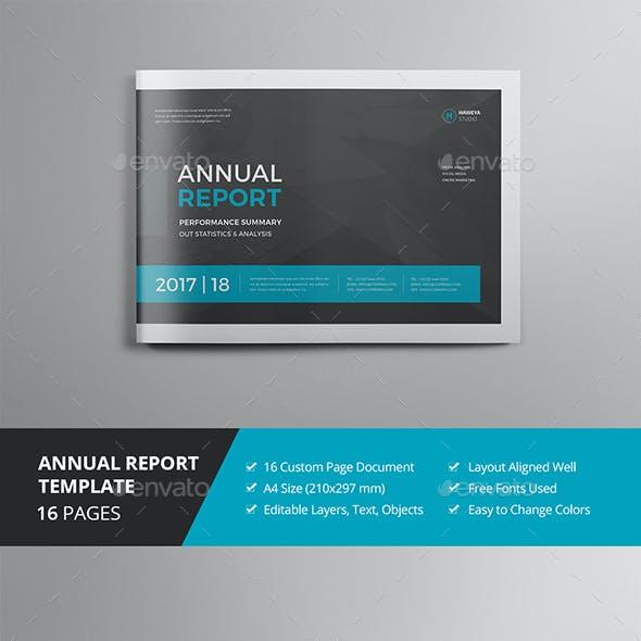 Annual Report Multi-Size