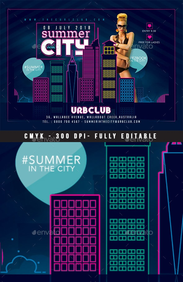 Summer In The City - Clubs & Parties Events