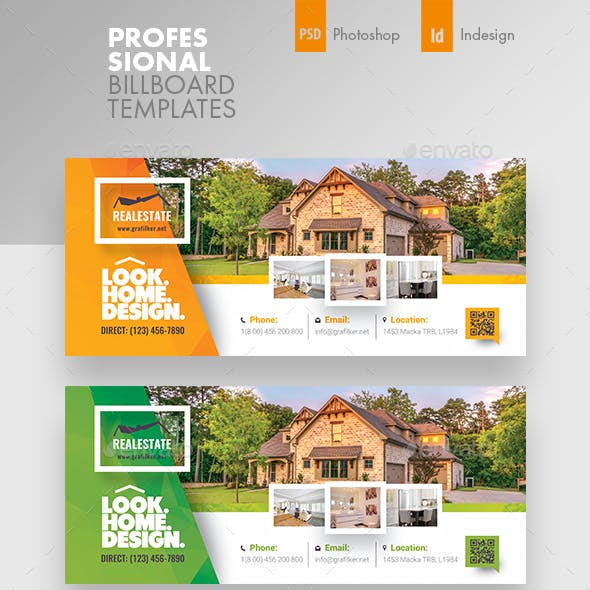 Real Estate Billboard Templates