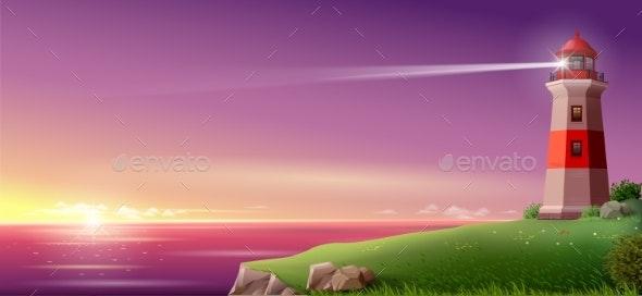 Night Fantasy Sea Landscape - Landscapes Nature