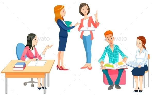 Teacher - Miscellaneous Vectors