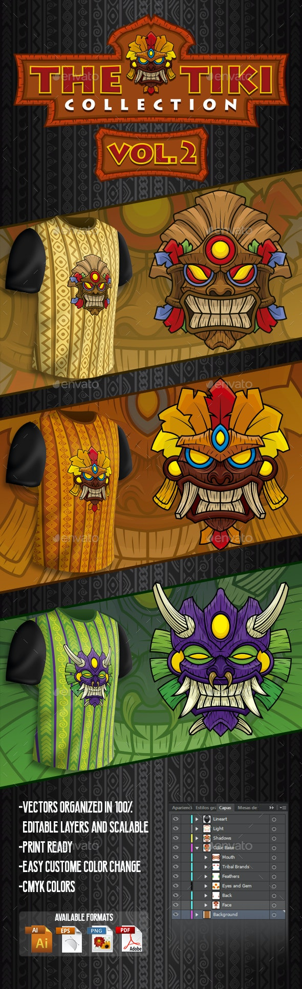 The Tiki Collection Vol 2 - Miscellaneous Characters