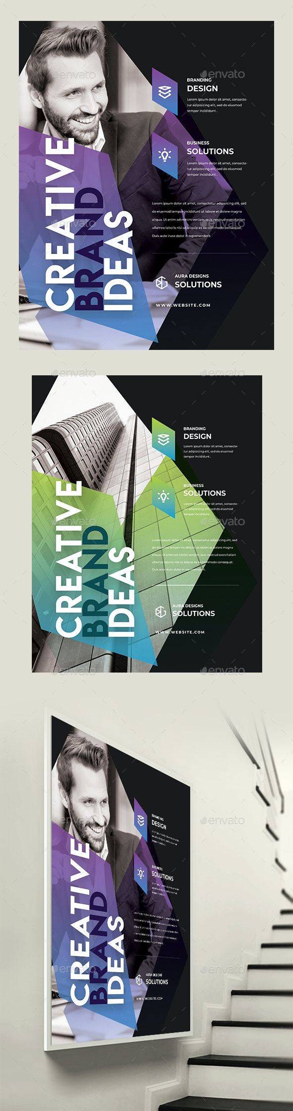 Creative Business Flyer / Poster - Corporate Flyers
