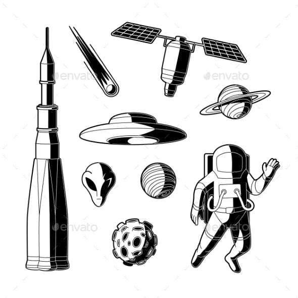 Vector Space Silhouettes