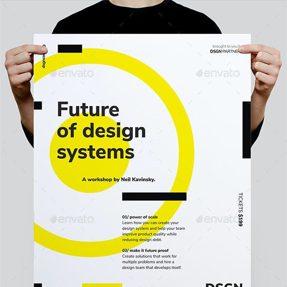 DSGN Series 3 Poster / Flyer Template