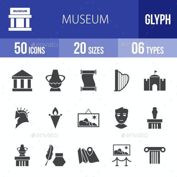 Museum Glyph Icons