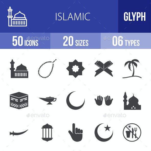 Islamic Glyph Icons
