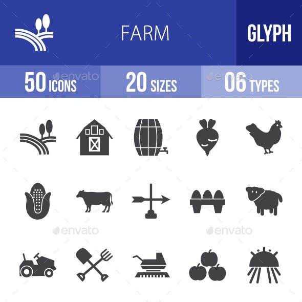 Farm Glyph Icons