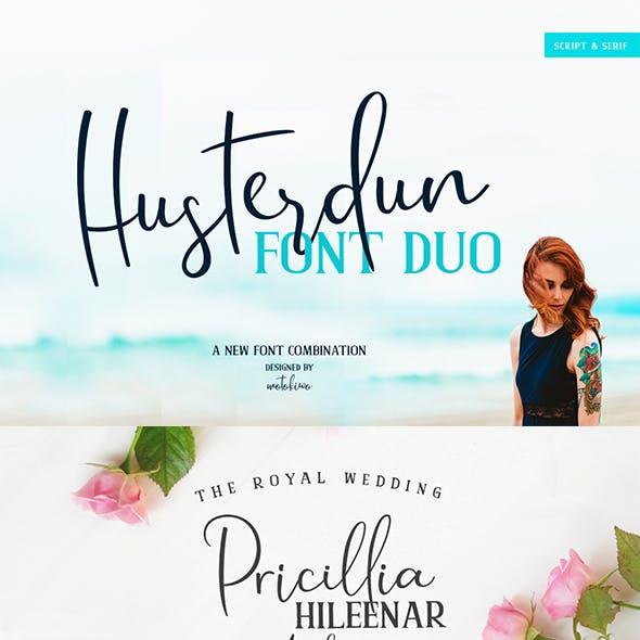 Husterdun Font Duo