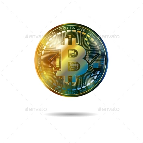 Bitcoin Cryptocurrency Coins