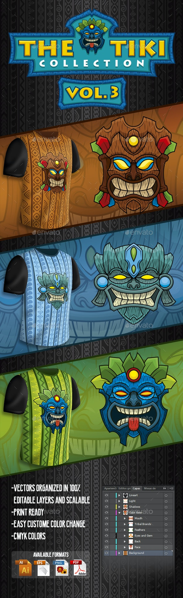 The Tiki Collection Vol 3 - Miscellaneous Characters
