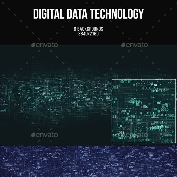 Digital Data Technology Backgrounds
