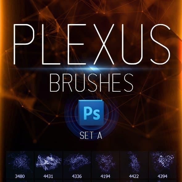 Plexus Brushes for Photoshop - Set A