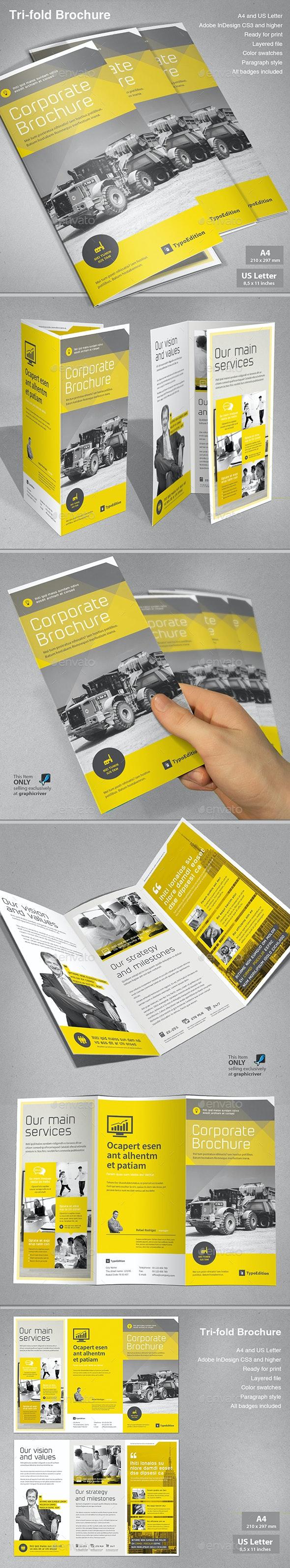 Business Tri-fold - Corporate Brochures