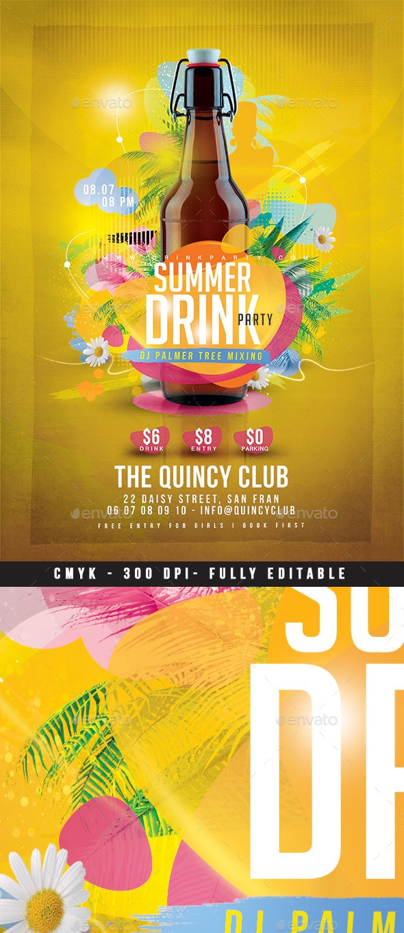 Summer Drink Party - Clubs & Parties Events