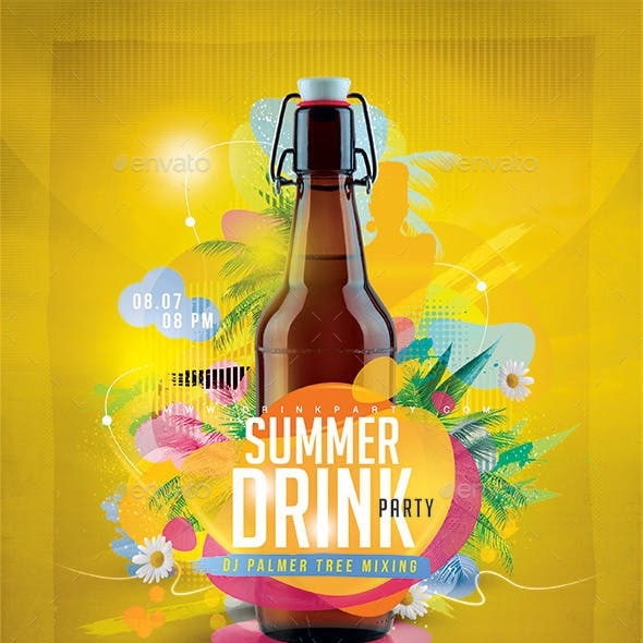 Summer Drink Party