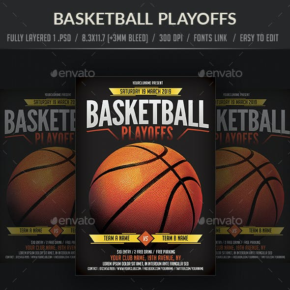 Basket Ball Game Flyer