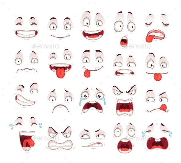 Cartoon Faces - Miscellaneous Characters