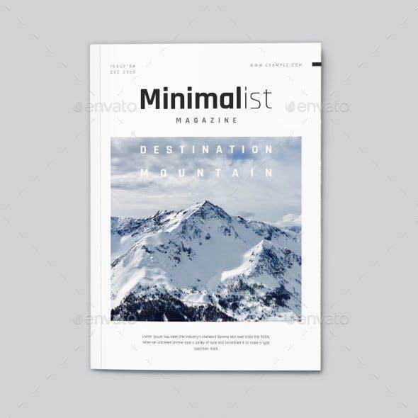 InDesign Minimalist Magazine Layout