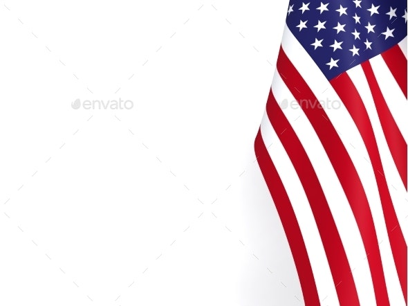 United States of America Flag - 3D Backgrounds