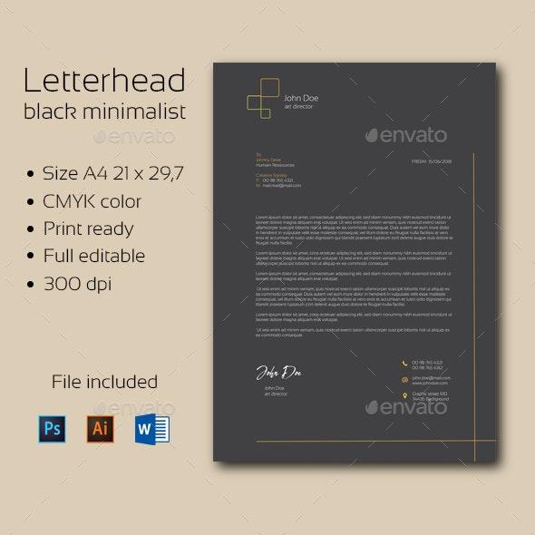 Letterhead - Stationery Print