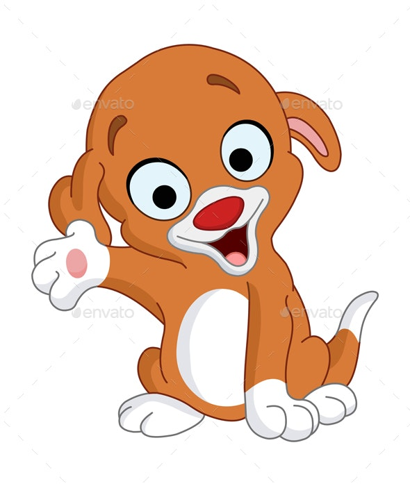 Presenter Puppy - Animals Characters