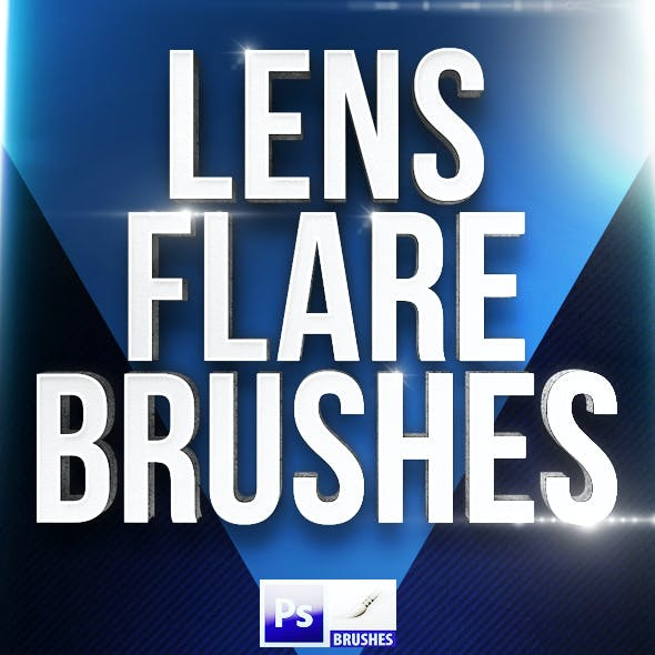 30 Lens Flare Brushes for Photoshop Set B