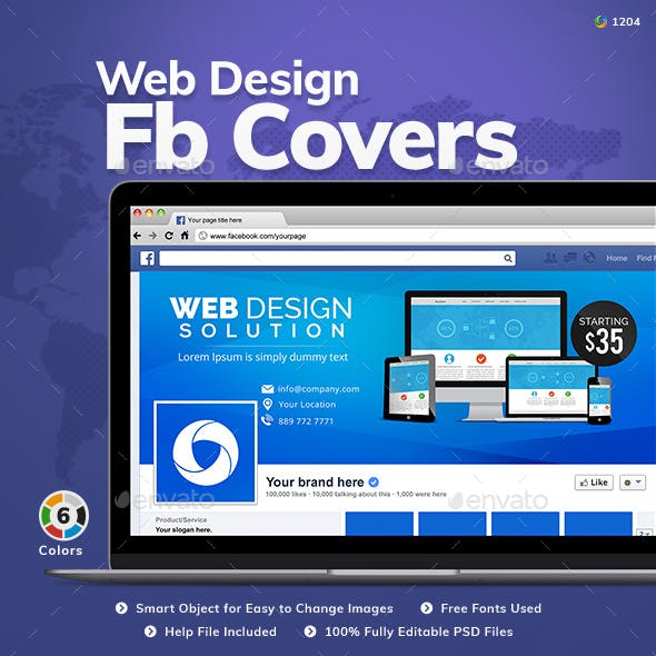 Web Design Facebook Cover
