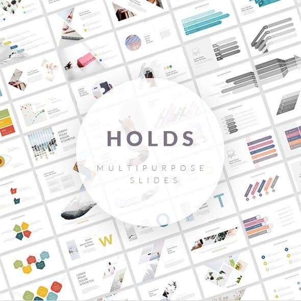 Holds - Multipurpose PowerPoint Presentation Template